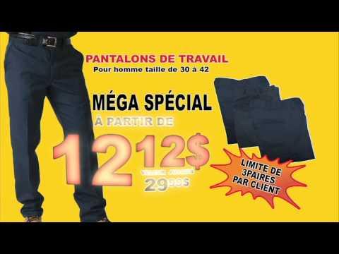 Pantalon de travail homme jean