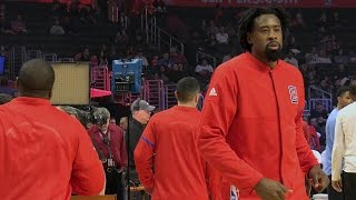 DeAndre Jordan Makes an Entrance