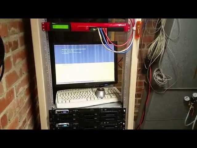 My New Homemade DIY Server Rack - YouTube