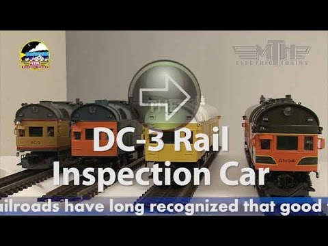 Mth Premier O Gauge Dc 3 Rail Inspection Car Youtube