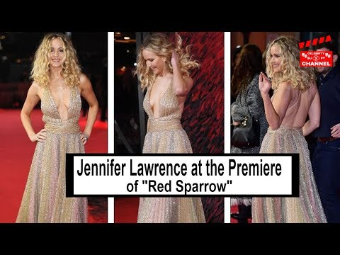 Jennifer Lawrence at the Premiere of 'Red Sparrow' in London 🎡