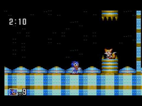 Sonic The Hedgehog 2 (Sega Master System) Gameplay Part 7 (Crystal Egg Zone + Credits)