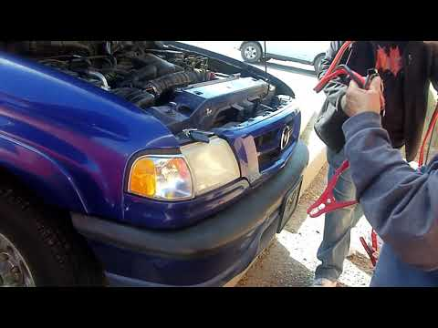 How To Jump Start Car Battery and Clean Corrosion