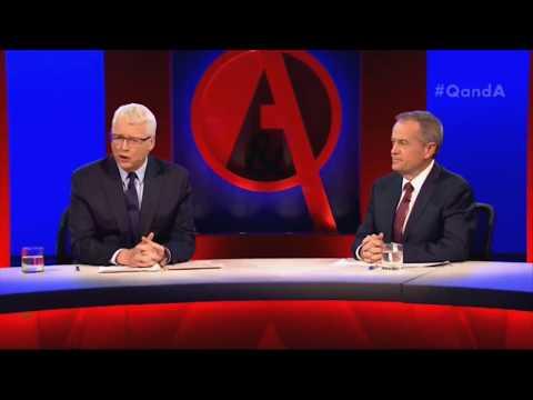 Q&A with Bill Shorten