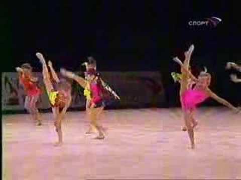Children Gymnastic Dance