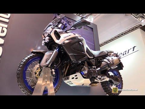 2015 Yamaha XT1200 Z Super Tenere - Walkaround - 2014 EICMA Milan Motorcycle Exhibition