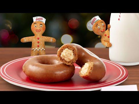 Heath West - Krispy Kreme's Gingerbread Glazed Doughnuts Are Back
