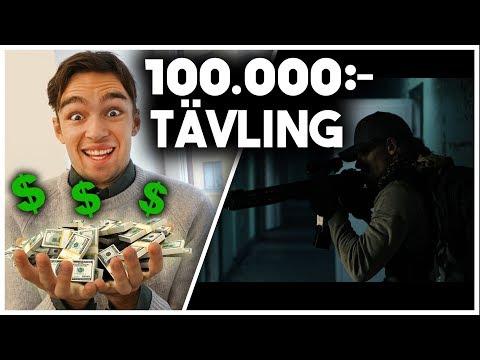 VI TÄVLAR OM 100.000KR I EN FILMTÄVLING