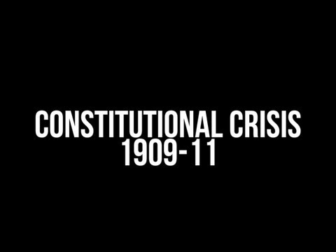 why the constitutional crisis happened 1909 11 The house of lords crisis what crisis talk of a constitutional crisis akin to that of 1909-11 thus the reason why the tories have lost their previous.
