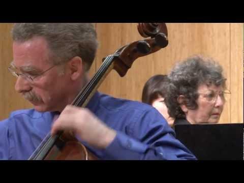 Prokofiev Cello Sonata, First Movement, with Hamilton Cheifetz and Janet Guggenheim