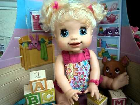 My Baby Ashley So Cute My Baby Alive Youtube