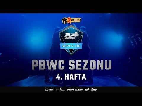 Hi2Games PBST 2018 PBWC Sezonu - Süper Lig 4. Hafta - Point Blank