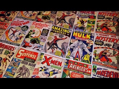 TOP 10 SILVER AGE MARVEL COMIC BOOK COLLECTION