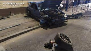 ДТП. Три человека пострадали при столкновении Subaru и Mazda на Ленина в Иркутске ночью 19 сентября.