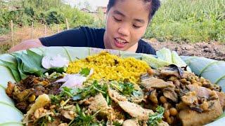 Classic Manipuri dish, USOI OOTI, USOI KANGSU with Khechri Mukbang | Meitei Mukbang