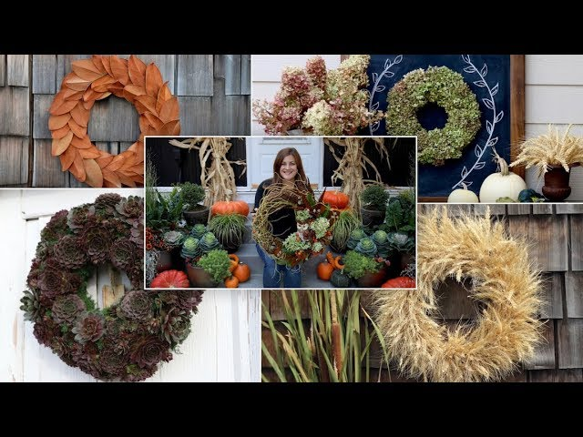 5 Fall Wreath Ideas