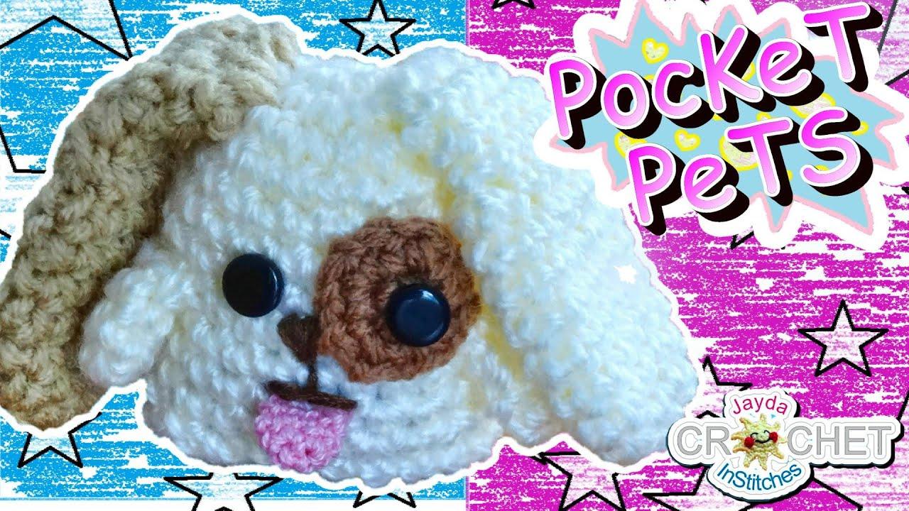 Crochet Puppy Dog Stuffed Toy Pattern - Jayda\'s Pocket Pets! - YouTube
