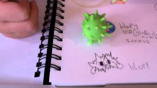 moshling blurp how to draw him