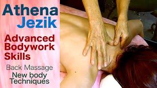 Athena Jezik -  Back massage  New body work