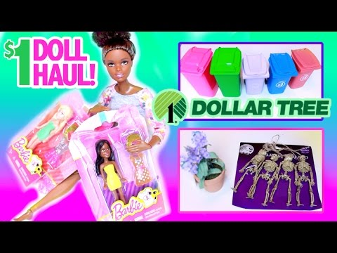 $1 HAUL! Doll GOODIES for Accessories & Crafting! Fall 2016