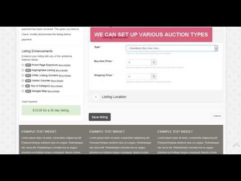 Best Auction Website Software Review - Amazing Features
