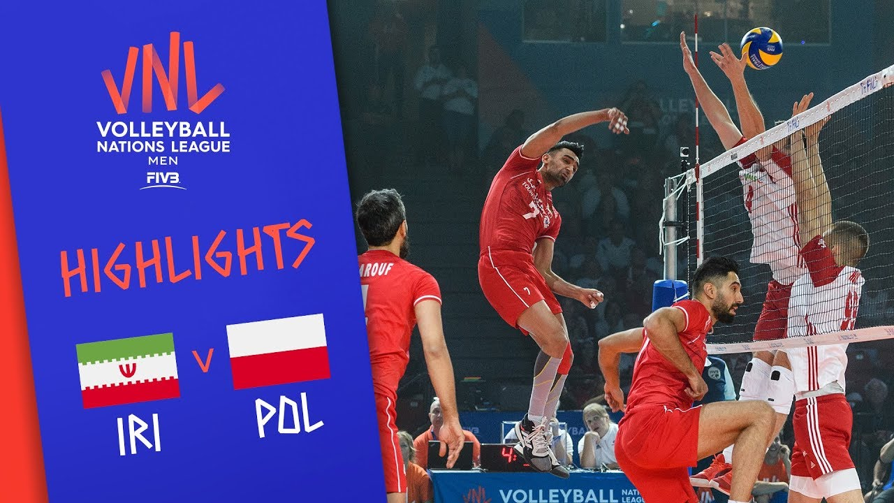 IRAN vs. POLAND - Highlights Men | Final Round | Volleyball Nations League 2019