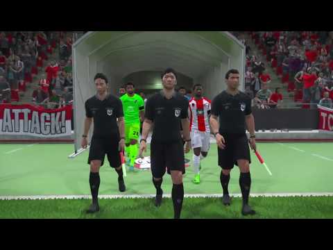 PS4 PES 2017 Gameplay FUS Rabat vs Club Sfaxien HD