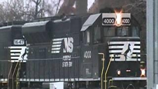 NS 4000 PR43C! NS A20 32nd St. 2-10-12