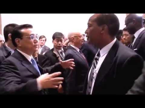 Chinese Premier Li Keqiang in Davos Forum