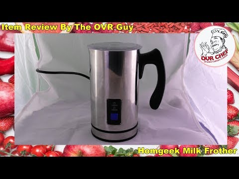 Homgeek Milk Frother Review