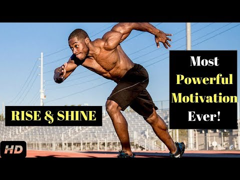 Best Running Motivational Video – Rise and Shine | Most Powerful Motivational video for Athletes