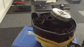 karcher mv2 loud motor