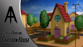 Cinema 4D | Speed Modeling | Cartoon House(Hope you enjoyed the video., 2014-03-01T20:05:48.000Z)