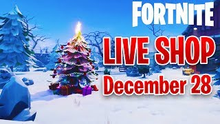*NEW* CLOAKED SHADOW Skin - December 28th Fortnite Daily Item Shop LIVE