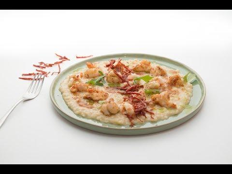 Ριζότο με Βερμούτ, Γαρίδες Και Chorizo του Πάνου Ιωαννίδη.