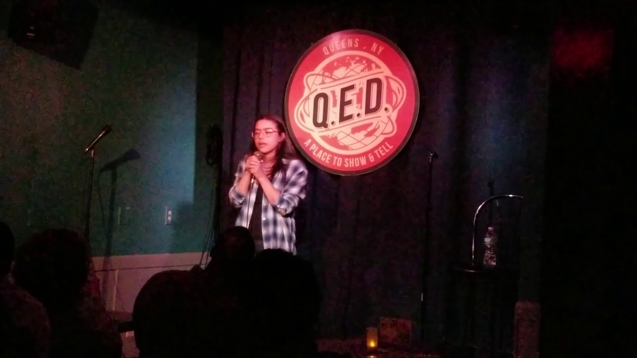 Wendy Steiner Stand Up Set At Token White Guy Show @ QED