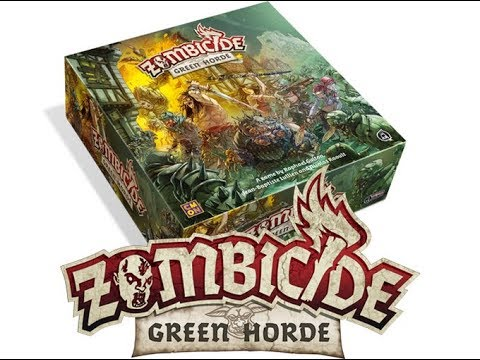 Rob looks at - Zombicide Green Horde