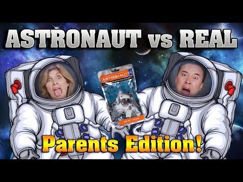 ASTRONAUT VS REAL FOOD CHALLENGE Parents Edition Taste Test