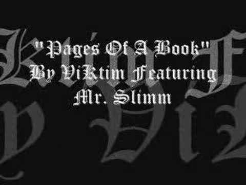 Pages of A Book- a song by Viktim and Mr. Slimm