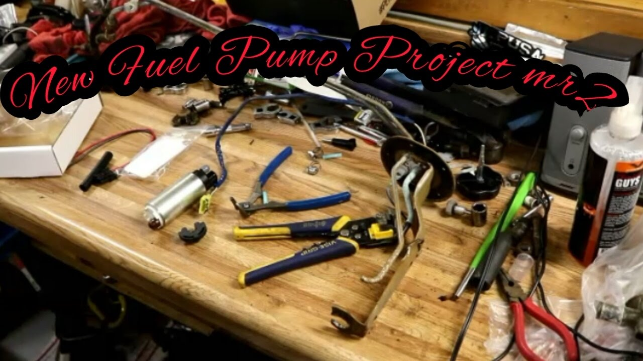 hight resolution of project mr2 gets a new fuel pump