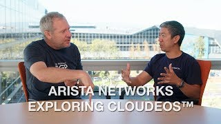 Arista Networks Exploring CloudEOS™