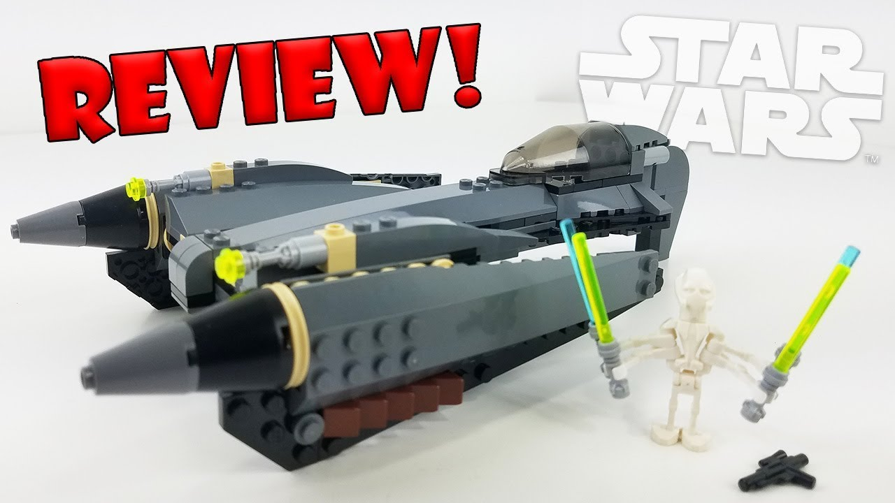 LEGO Star Wars Review: 7656 General Grievous Starfighter (2007 Set ...