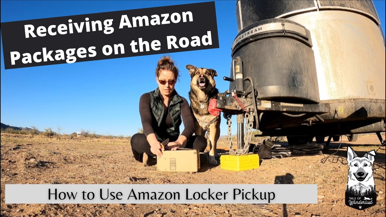How to Order Amazon Prime Products while Living in an RV