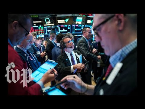 Watch live: Dow plunges as China retaliates on tariffs - YouTube