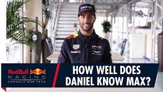 How Well Does Daniel Ricciardo Know Max Verstappen? thumbnail