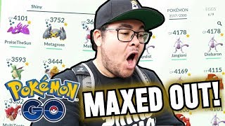 Reversal's MAXED OUT Pokémon GO Collection!