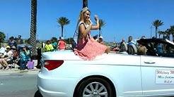 Opening Beaches Parade in Jacksonville Beach, Florida