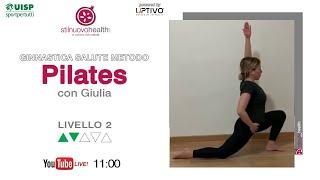 Ginnastica Salute Metodo Pilates - Livello 2 - 14  (Live)