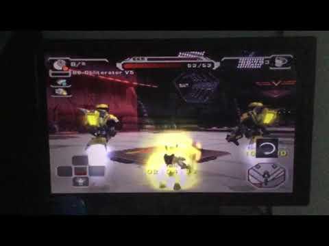 Ratchet Deadlocked (PS2) Playthrough: DreadZone Station (Dread Challenges) 3rd Half