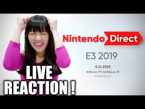 LIVE REACTION! Nintendo Direct E3 2019